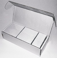 Cartão PVC Branco CR80 - Cx c/ 250 unidades