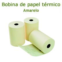 Bobina de Papel Termico (80mmx40m) - CX c/ 30 unids