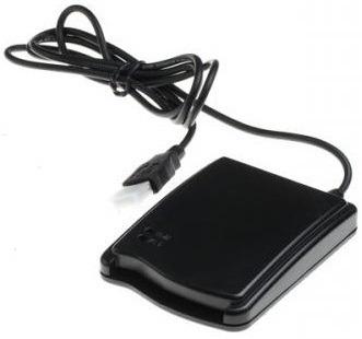 LEITOR E GRAVADOR RF ID - USB 13.56mhz Mifare Iso 14443 Tipo A