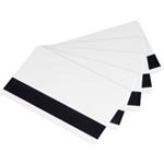 Cartão PVC CR 80 0,75mm Branco com Tarja Magnética Horizontal Alta