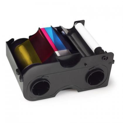 Ribbon Colorido CMYKO para DTC1000/DTC1250 Fargo