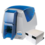 Impressora Datacard SP 35 Plus monocromatica com Gravador de Tarja Magnética - semi-nova