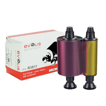 Ribbon Evolis Color YMCKO - Importado